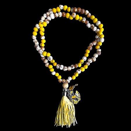 Japamala Amarelo Umbanda Oxum
