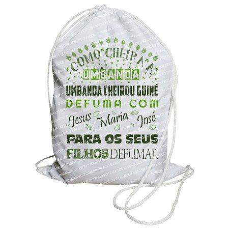 Mochilinha para Guias / Colares / Fios de Contas - Como Cheira a Umbanda