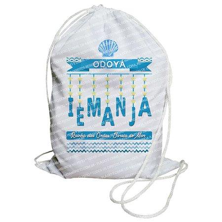 Mochilinha para Guias / Colares / Fios de Contas - Odoyá Iemanjá