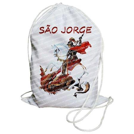 Mochilinha para Guias / Colares / Fios de Contas - São Jorge