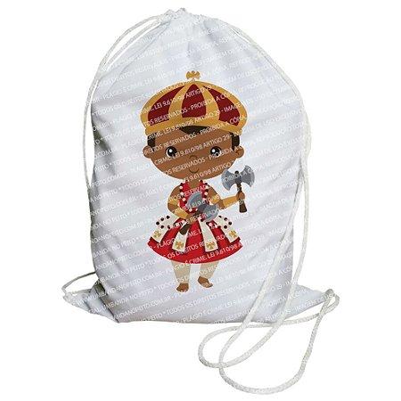 Mochilinha para Guias / Colares / Fios de Contas - Xangô Criança