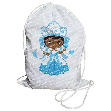 Mochilinha para Guias / Colares / Fios de Contas - Iemanjá Criança
