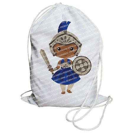 Mochilinha para Guias / Colares / Fios de Contas - Ogum Criança