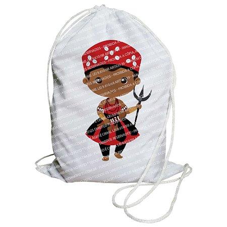 Mochilinha para Guias / Colares / Fios de Contas - Exu Criança