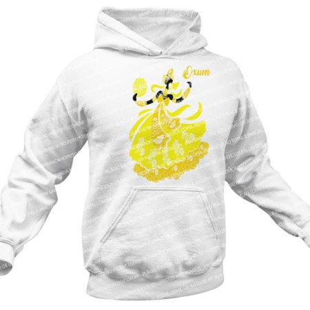 Moletom Unissex Ora Iê Iê Amarelo