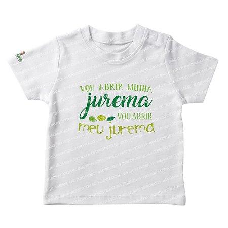 Camiseta Infantil Vou Abrir Minha Jurema