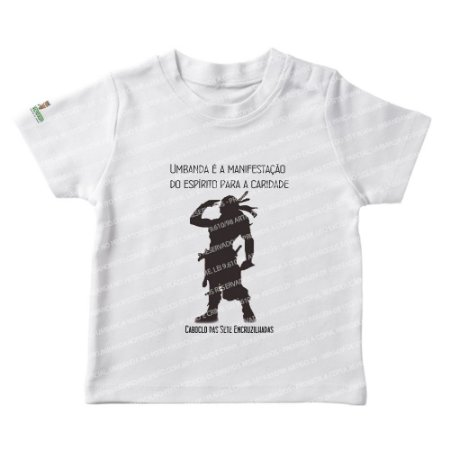 Camiseta Infantil Caboclo das Sete Enccruzilhadas