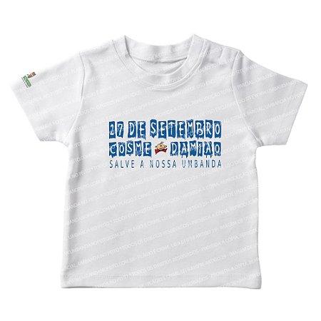 Camiseta Infantil Festa em 27 de Setembro