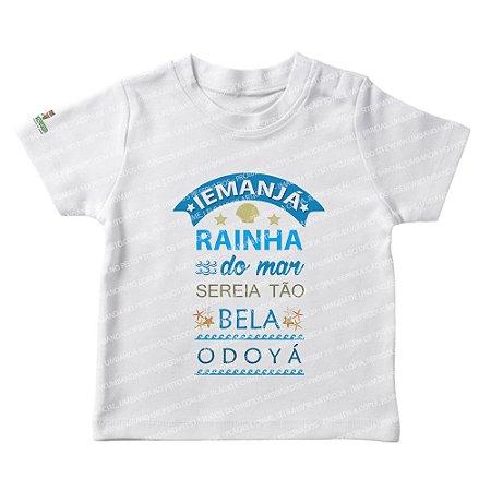 Camiseta Infantil Rainha Sereia