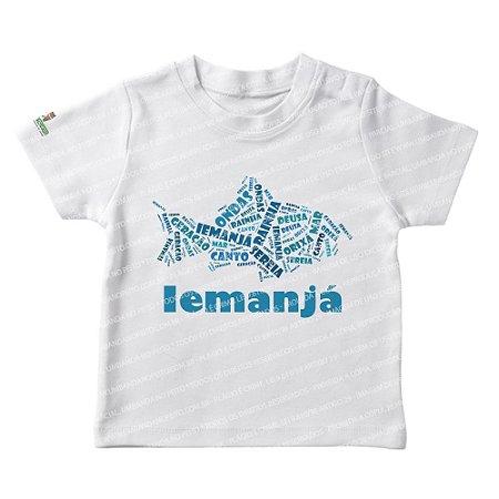 Camiseta Infantil Iemanjá Mamãe