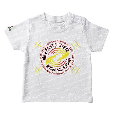 Camiseta Infantil Iansã Deusa Guerreira