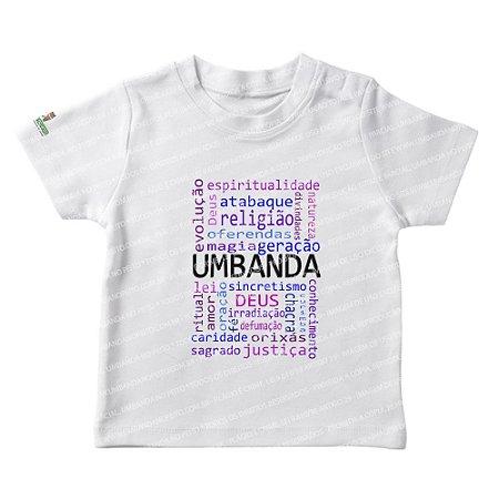 Camiseta Infantil Querida Umbanda