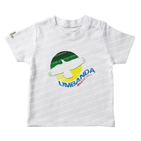 Camiseta Infantil Umbanda Brasileira