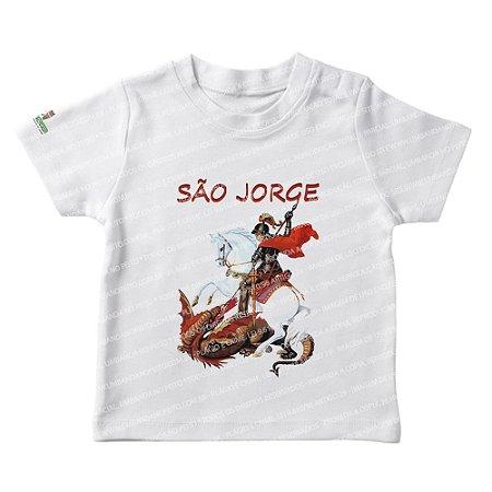 Camiseta Infantil São Jorge