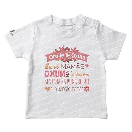 Camiseta Infantil Oxum na Cachoeira