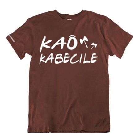 Camiseta Marrom Kaô Kabecile