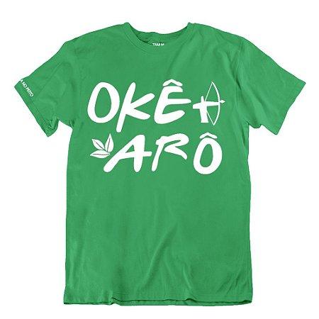 Camiseta Verde Okê Arô