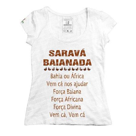 Baby Look Saravá Baianada