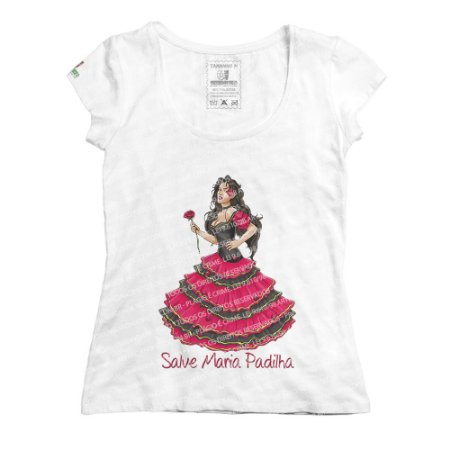 Baby Look Salve Maria Padilha