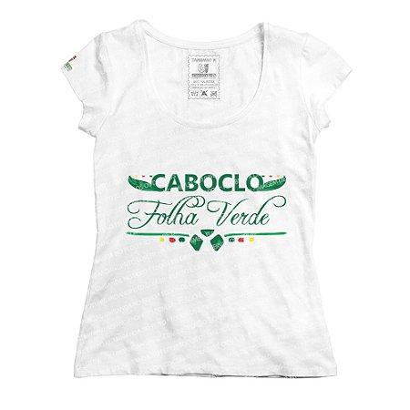 Baby Look Folha Verde