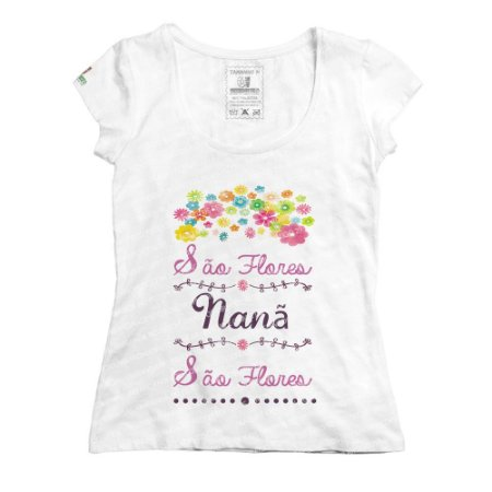 Baby Look São Flores Nanã
