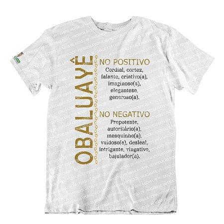 Camiseta Características Filho(a) Obaluayê