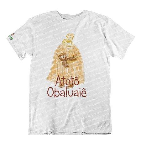 Camiseta Atotô Obaluayê