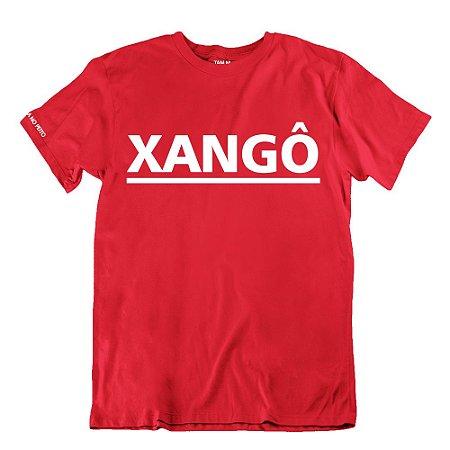 Camiseta Vermelha Xangô