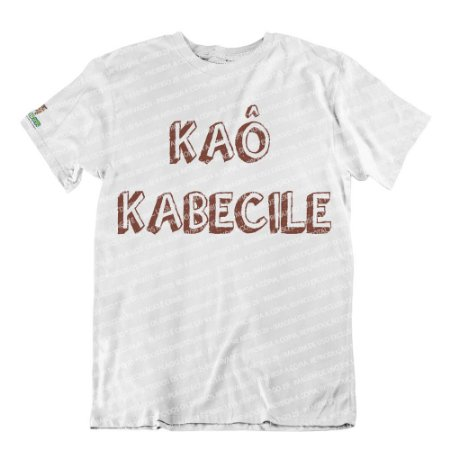 Camiseta Xangô Kaô Kabecile