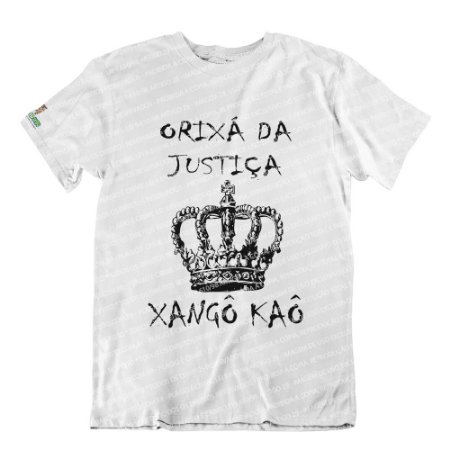 Camiseta Orixá da Justiça