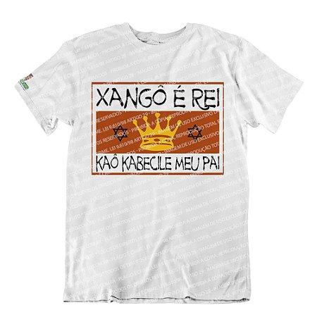 Camiseta Pai Xangô é Rei
