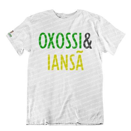 Camiseta Coleção Pai & Mãe: Oxossi & Iansã