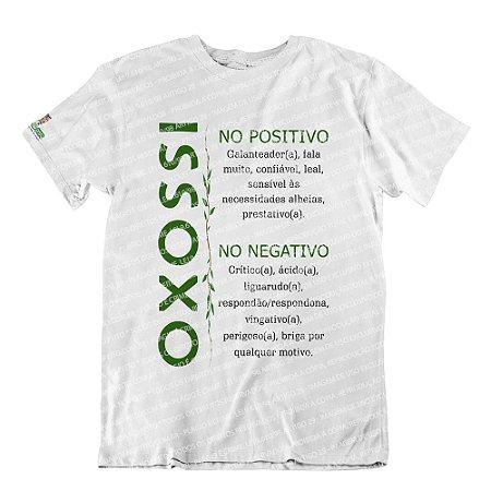 Camiseta Características Filho(a) Oxossi