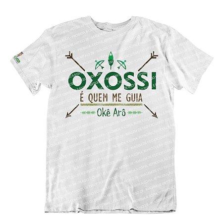 Camiseta Oxossi é Quem Me Guia