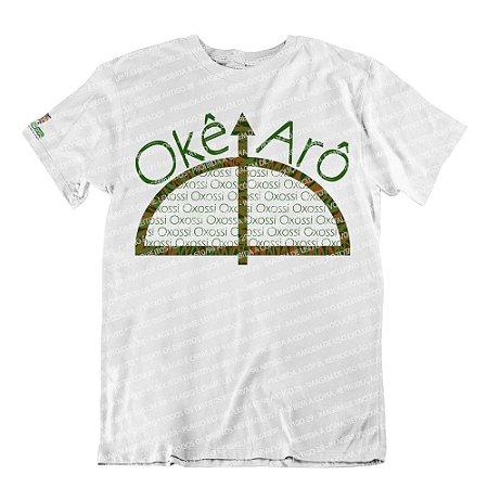 Camiseta Okê Arô Meu Pai Oxossi