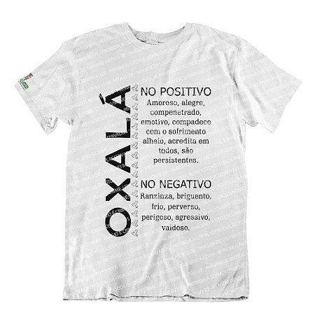 Camiseta Características Filho(a) Oxalá