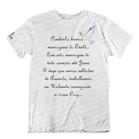 Camiseta Mensageiro de Oxalá