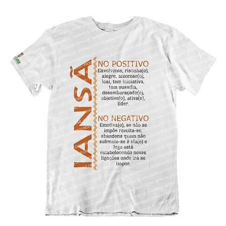 Camiseta Características Filha(o) Iansã