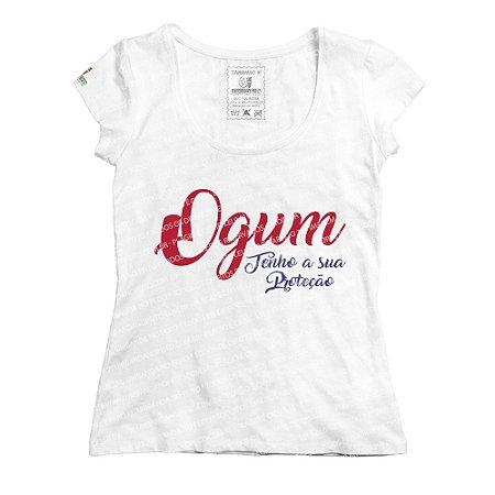 Baby Look Ogum Tenho a sua Proteção