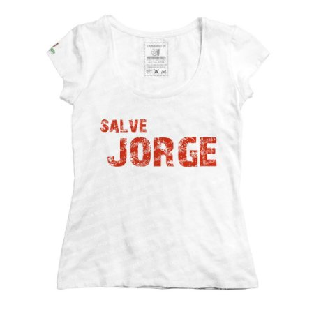 Baby Look Jorge (vermelho)