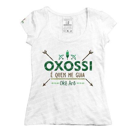 Baby Look Oxossi é Quem Me Guia