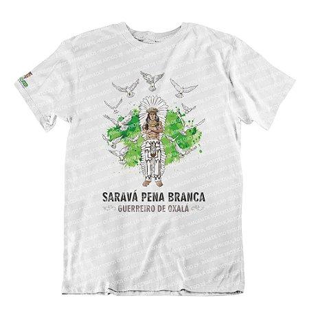 Camiseta Pena Branca Guerreiro de Oxalá