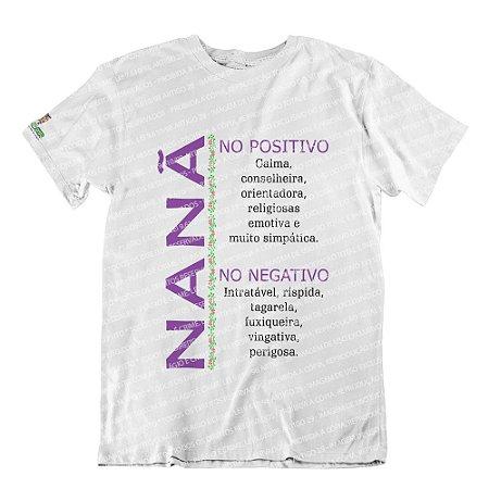 Camiseta Características Filha(o) Nanã