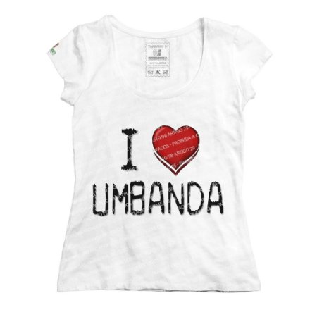 Baby Look I Love Umbanda