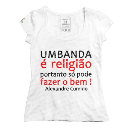 Baby Look Umbanda é Religião
