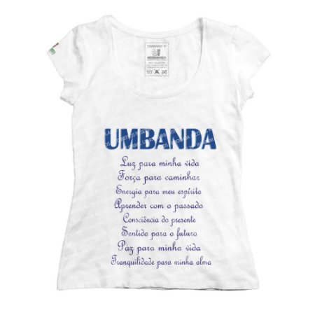 Baby Look Umbanda É