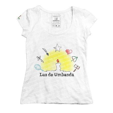 Baby Look Luz de Umbanda