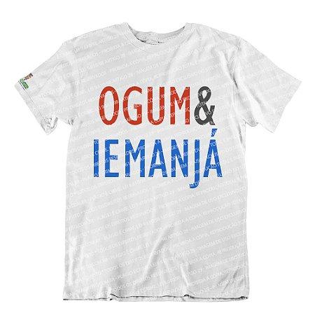 Camiseta Coleção Pai & Mãe: Ogum & Iemanjá