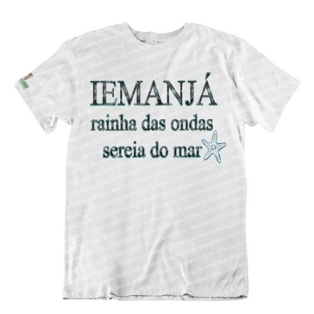 Camiseta Rainha das Ondas, Sereia do Mar