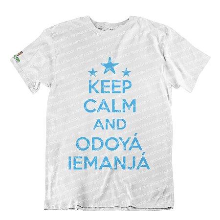 Camiseta Keep Calm and Odoyá Iemanjá